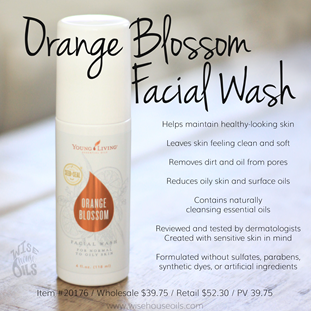 New Orange Blossom Facial Wash Convention 2018 WHO