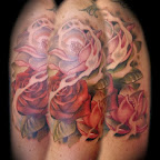 red rose - Magnolia Tattoos Pictures