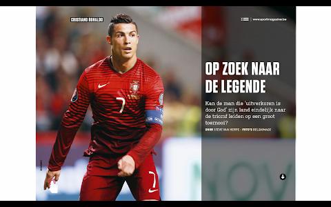 Sport/Voetbalmagazine HD screenshot 3