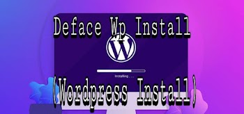 Deface Wp Install ( Wordpress Install )