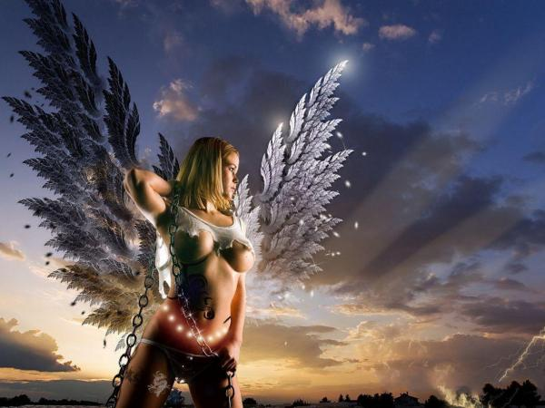 Broken Angel Beauty, Fallen Angels