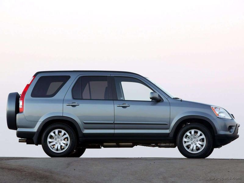 2006 honda cr v suv specifications pictures prices. Black Bedroom Furniture Sets. Home Design Ideas
