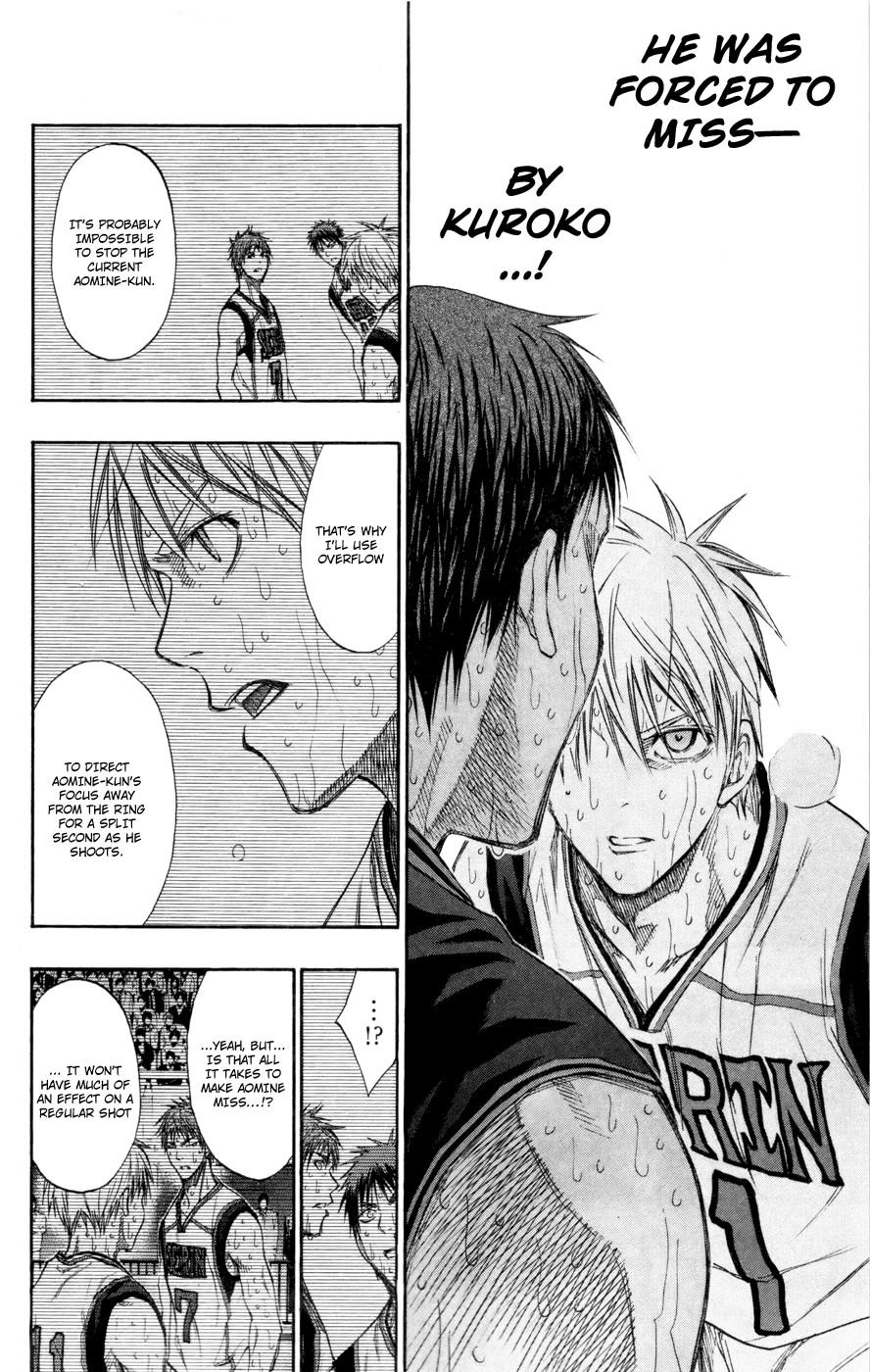 Kuroko no Basket Manga Chapter 132 - Image 11