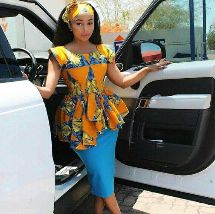 PRETTY AFRICAN SUITS FOR ATTRACTIVE AND PROFESSIONAL LADIES 6