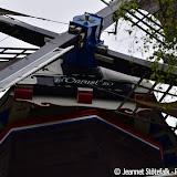 Radiozendamateurs in molen de Onrust - Foto's Jeannet Stotefalk