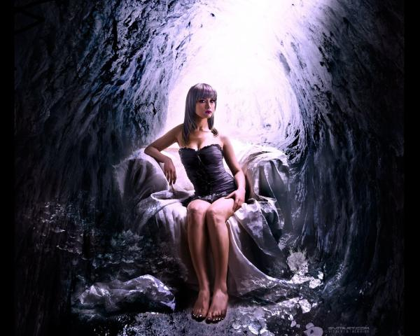 Girl In A Cozy Cave, Fairies 3