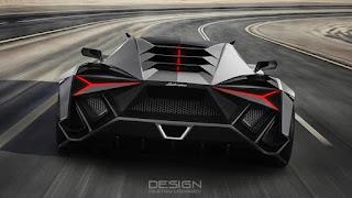 Lamborghini Forsennato concept by Dmitry Lazarev