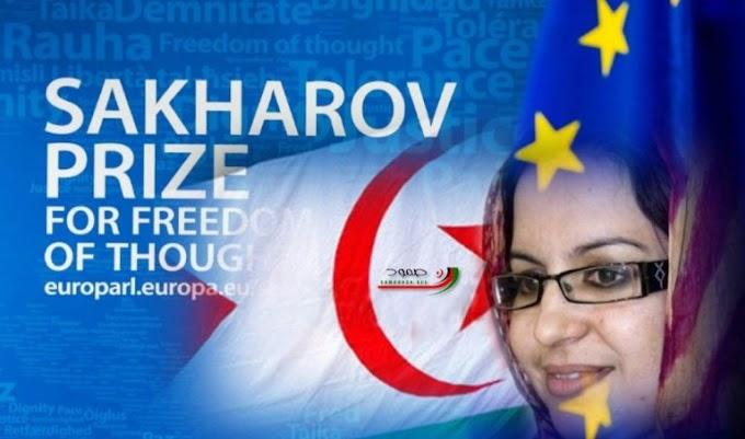 La izquierda europea propone a la activista saharaui Sultana Jaya para el Premio Sajarov.