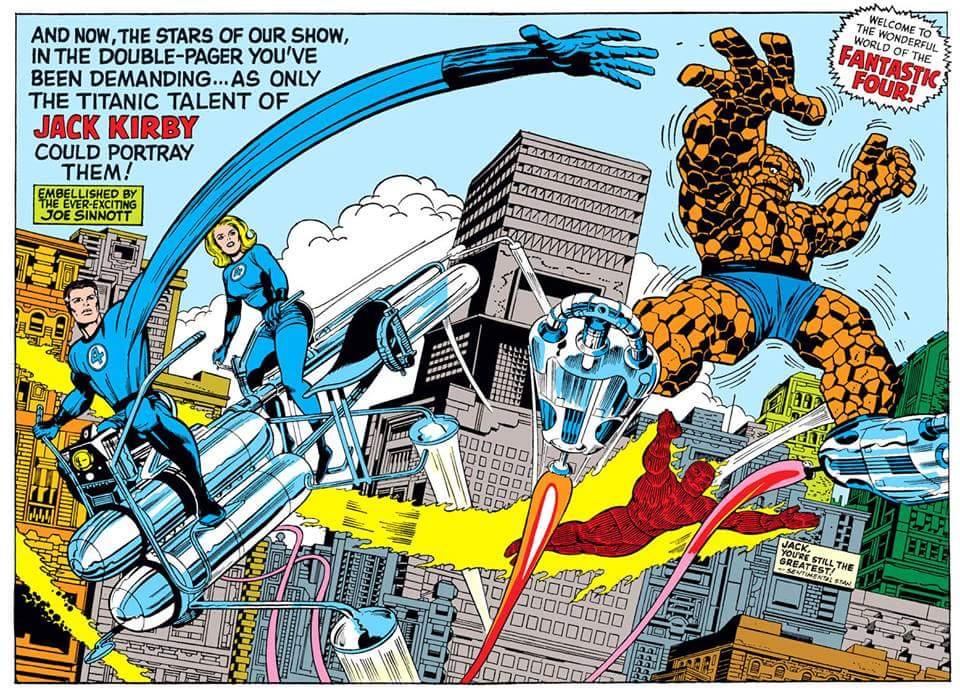 Comic Book Rehab: Fantastic Floored
