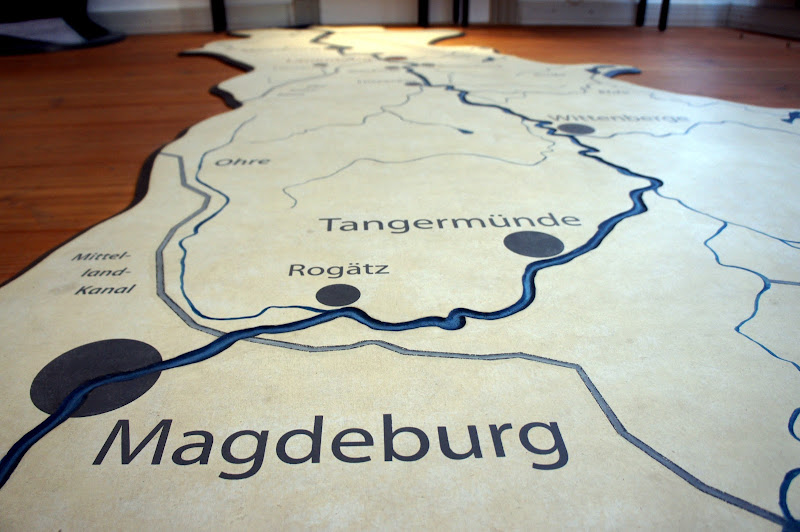 Die Elbe bis Magdeburg