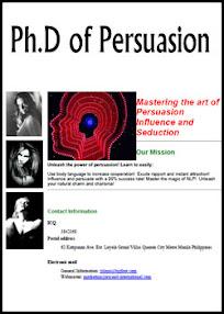 Cover of Joseph Plazo's Book Phd Of Persuasion