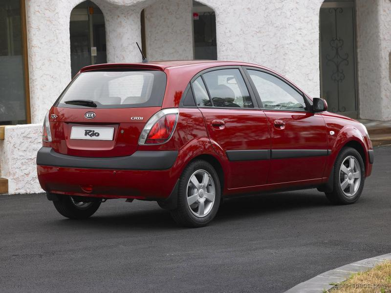 2008 kia rio wagon specifications pictures prices. Black Bedroom Furniture Sets. Home Design Ideas