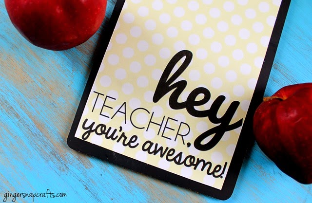 teacher gift printable