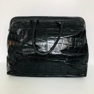 Furla Oversized Vintage Black Bag