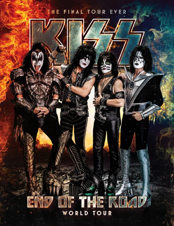 kiss gira world tour