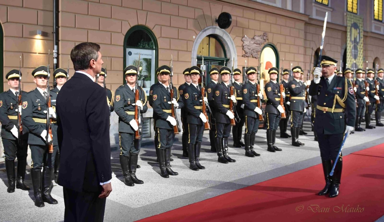 Državna proslava ob dnevu državnosti v Ljubljani - foto Dani Mauko