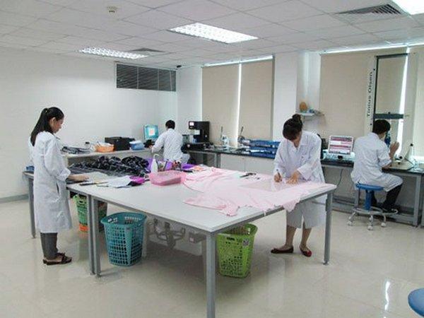 Fabric testing lab