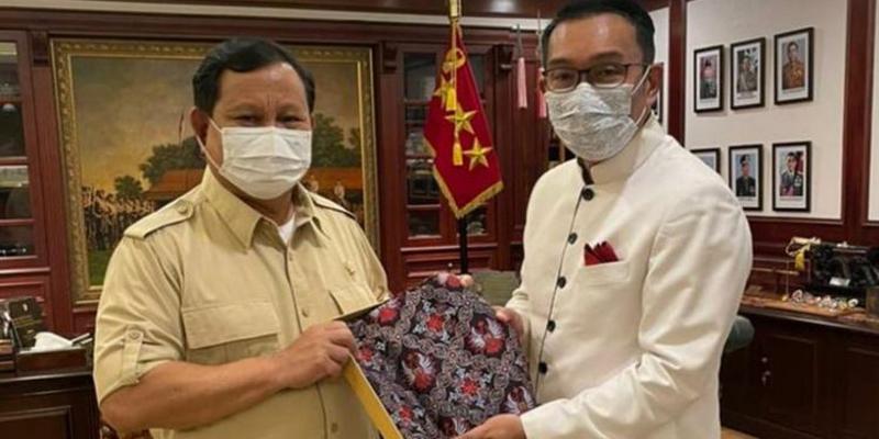 Tidak Tertutup Kemungkinan Pertemuan Prabowo-RK Jajaki Duet Pilpres 2024