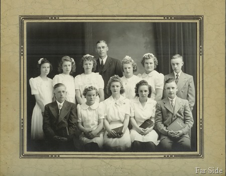 Madeline Confirmation Class 1944 (2)