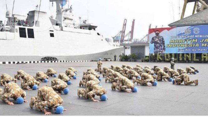 Tiba di Jakarta, Pasukan TNI yang Tugas di Lebanon Gelar Sujud Syukur