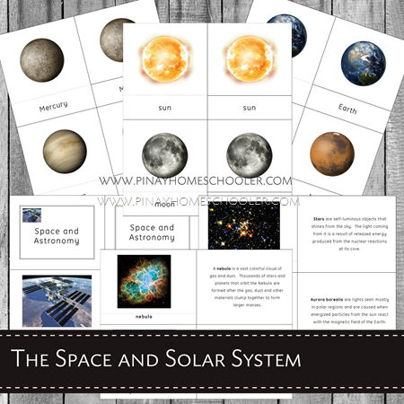 The Solar System and Space Learning Pack