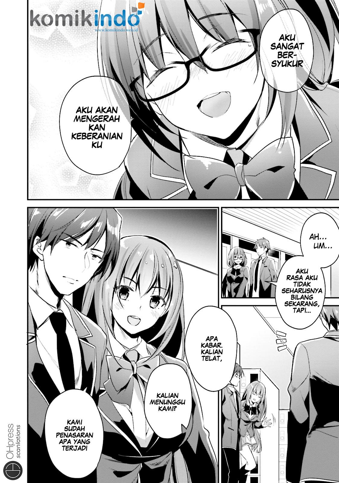 Baca Komik Youkoso Jitsuryoku Shijou Shugi no Kyoushitsu e Chapter 13 Bahasa Indonesia Page 32