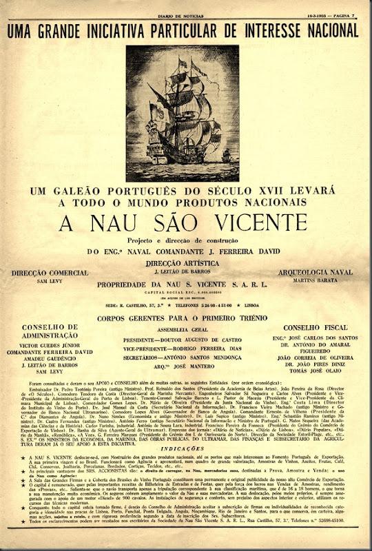1955 Nau S. Vicente (16-03)
