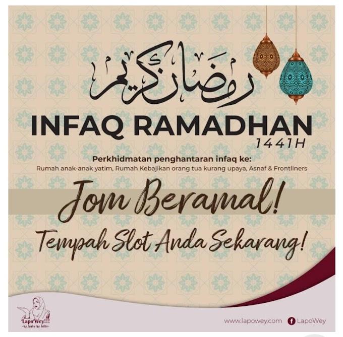 Lapowey - Murah Rezeki Bersama Berinfaq Makanan