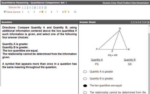 Gre Math Exercise Chrome Web Store