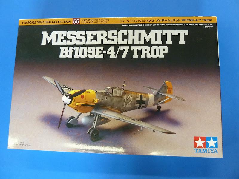 "Messerschmmit Bf 109 E-3 - Major Hans ""Assi"" Hahn P1030828"