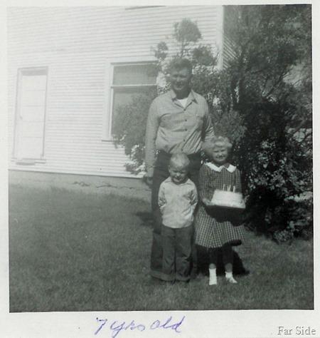 7th birthday 1958