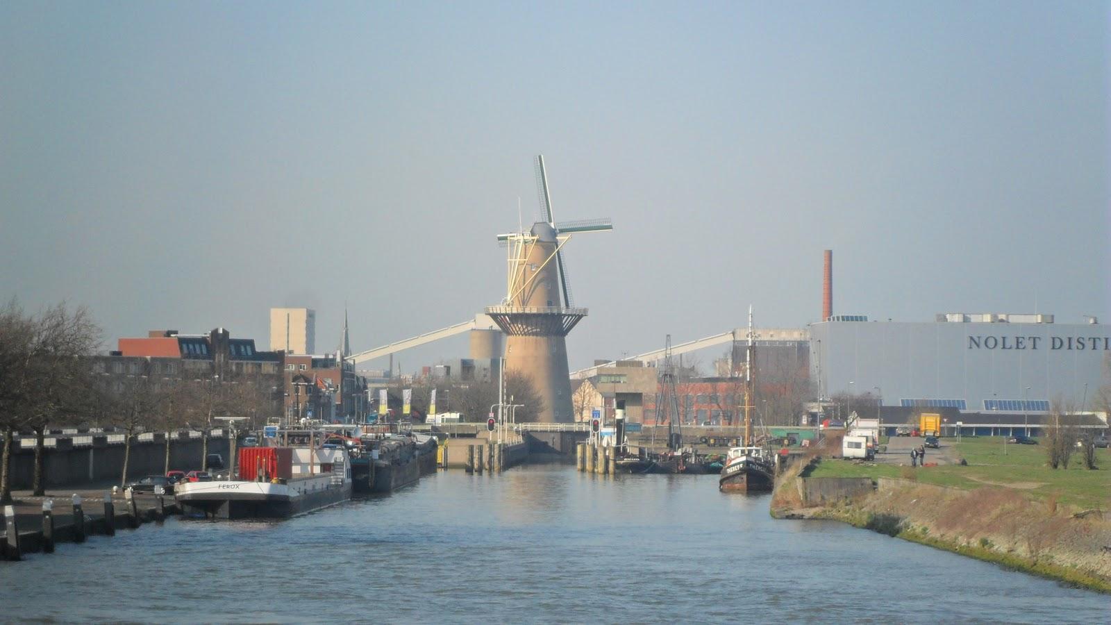 voyage au pays bas le port de rotterdam