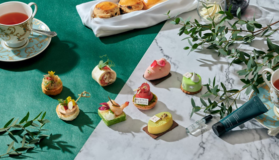 CRABTREE & EVELYN AND KOWLOON SHANGRI-LA HONG KONG PRESENTS DARE TO BE DIFFERENT AFTERNOON TEA.
