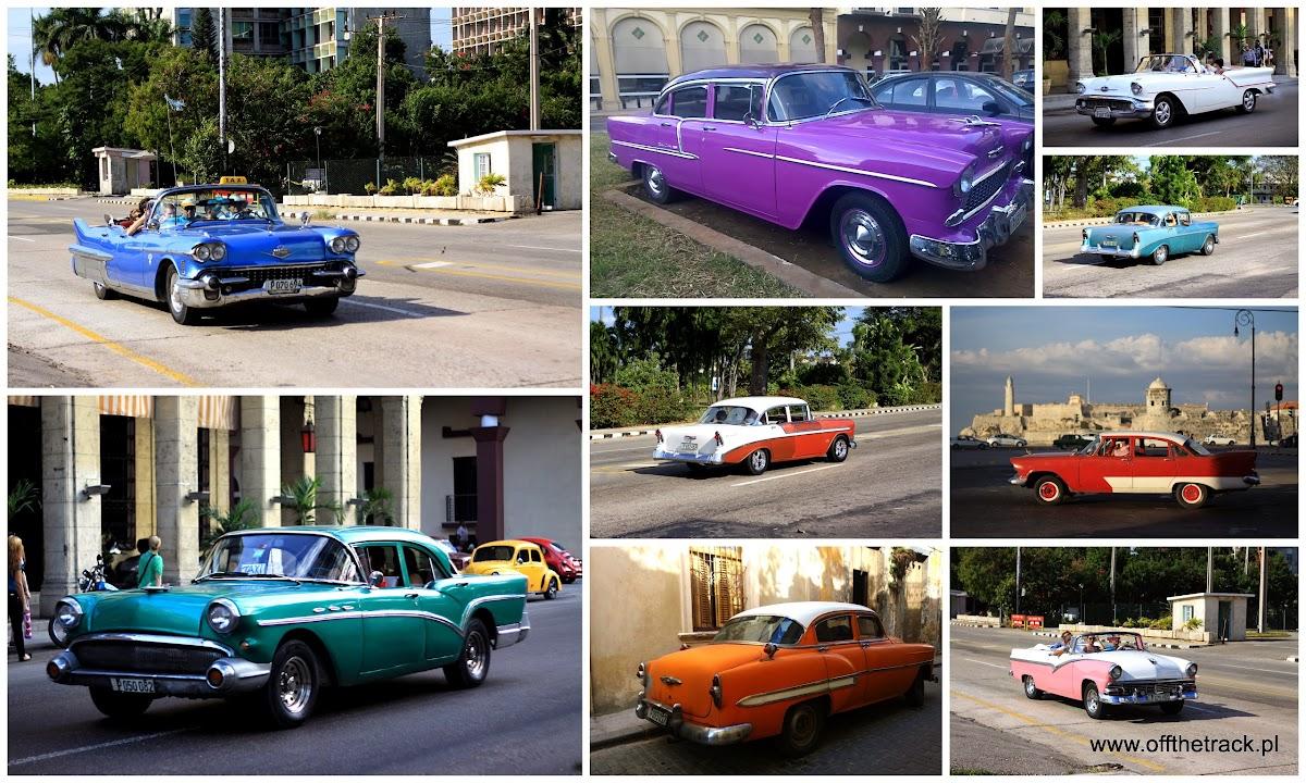 Stare samochody na Kubie