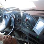 Het dashboard van de Marbus van Izletnik bus 875