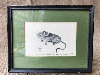Edward Lupper Signed Mouse Drawing