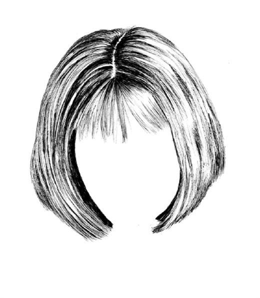 how to draw hair christina