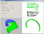 Latest software to generate subroutine grinding programs for complex artificial knee contours