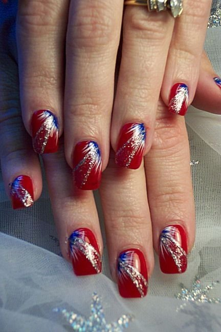 Nail Polish Ideas For Fourth Of July