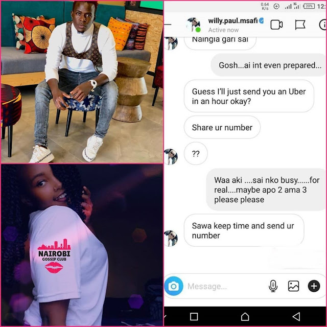 Willy Paul new exposee from Edga Obare on school girls