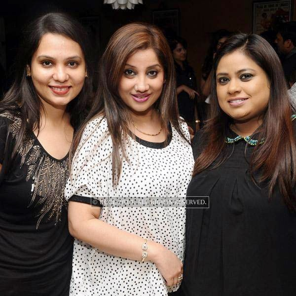 Noopur, Geetha and Sapna during a Weekend party, held at Zara.