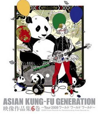 [TVSHOW] ASIAN KUNG-FU GENERATION – 映像作品集6巻~Tour 2009 ワールド ワールド ワールド~ (2009/10/07)