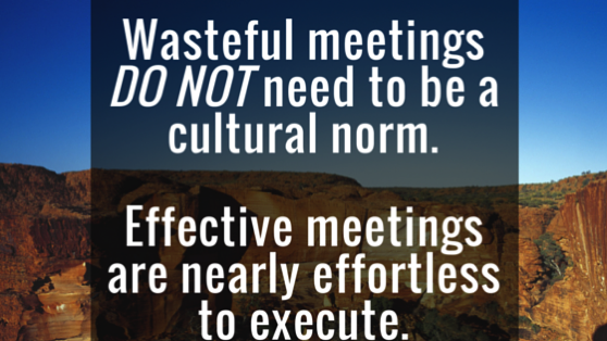 Meeting and cultural norms