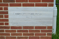 Christ's Church cornerston