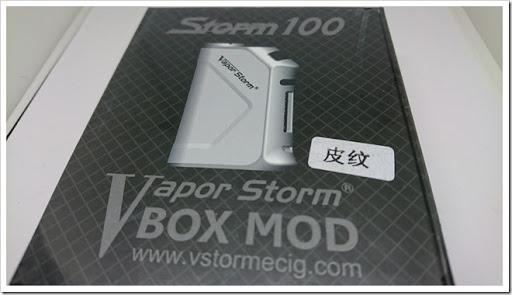 DSC 0891 thumb%25255B2%25255D - 【MOD】DNA?「VAPORSTORM Storm 100 VW/TC MODレビュー」DNAっぽい液晶が特徴【平凡ながら堅実エルゴノミクスデザイン】