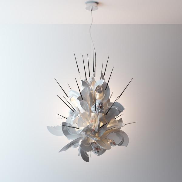 evan elvis only lights ingo maurer 39 s 39 porca miseria 39. Black Bedroom Furniture Sets. Home Design Ideas