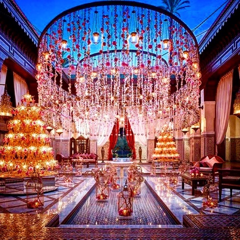 Nobody Does It Better: Royal Mansour At Christmas Time.