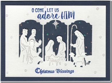 O COME LET US ADORE HIM 1