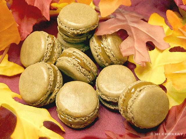 Fall Fiesta Macarons