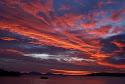 zonsondergang boven lake taupo.JPG